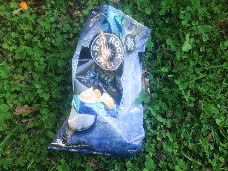 Red Rock Deli potato chips bag