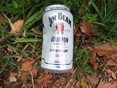 Jim Beam can
