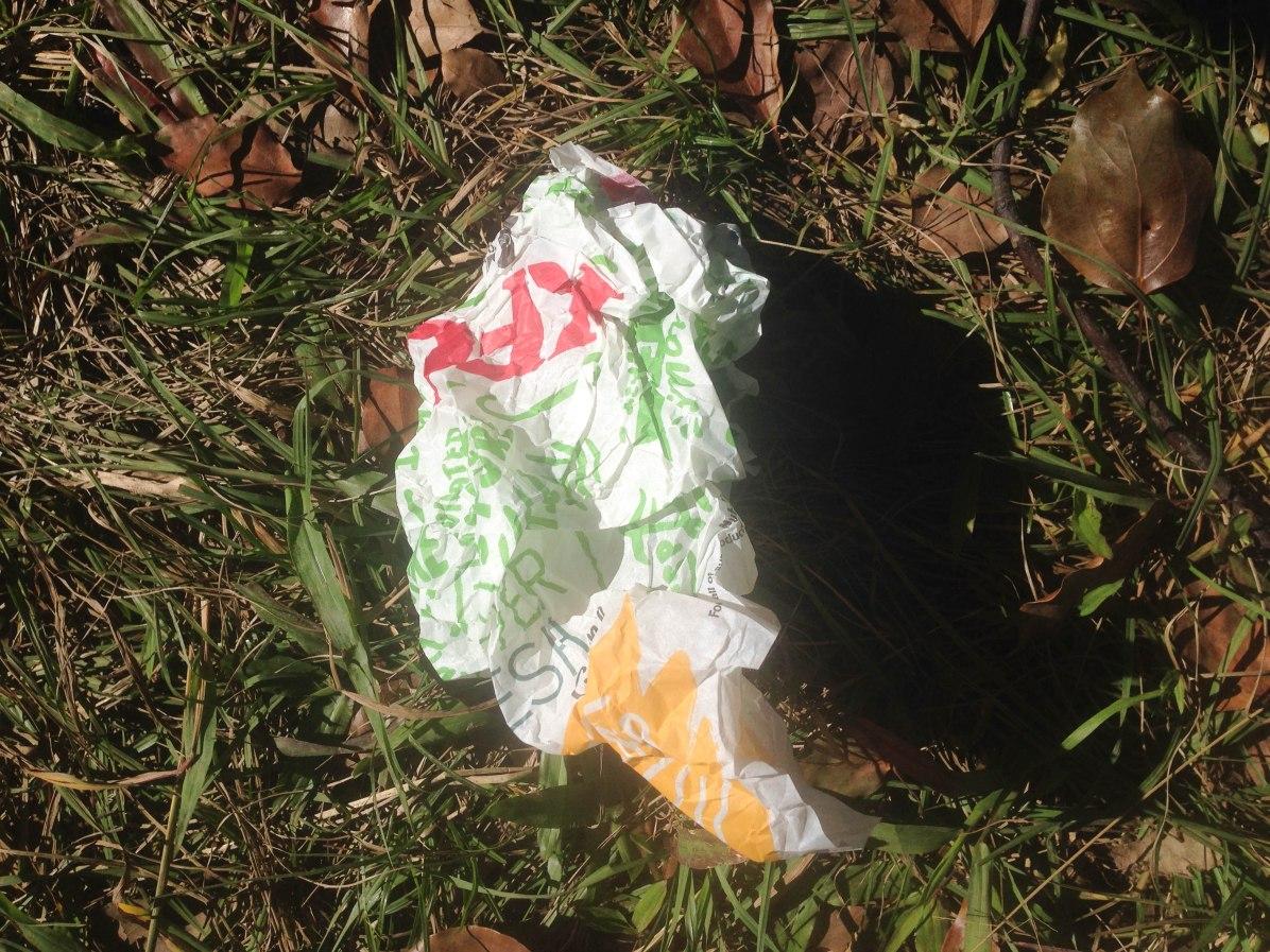 KFC wrapper