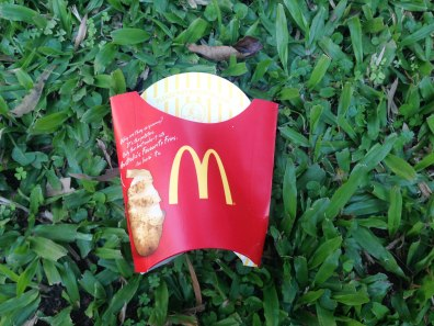 McDonalds fries pack