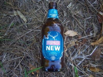 Tooheys beer bottle