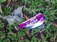 Turkish Delight chocolate bar wrapper