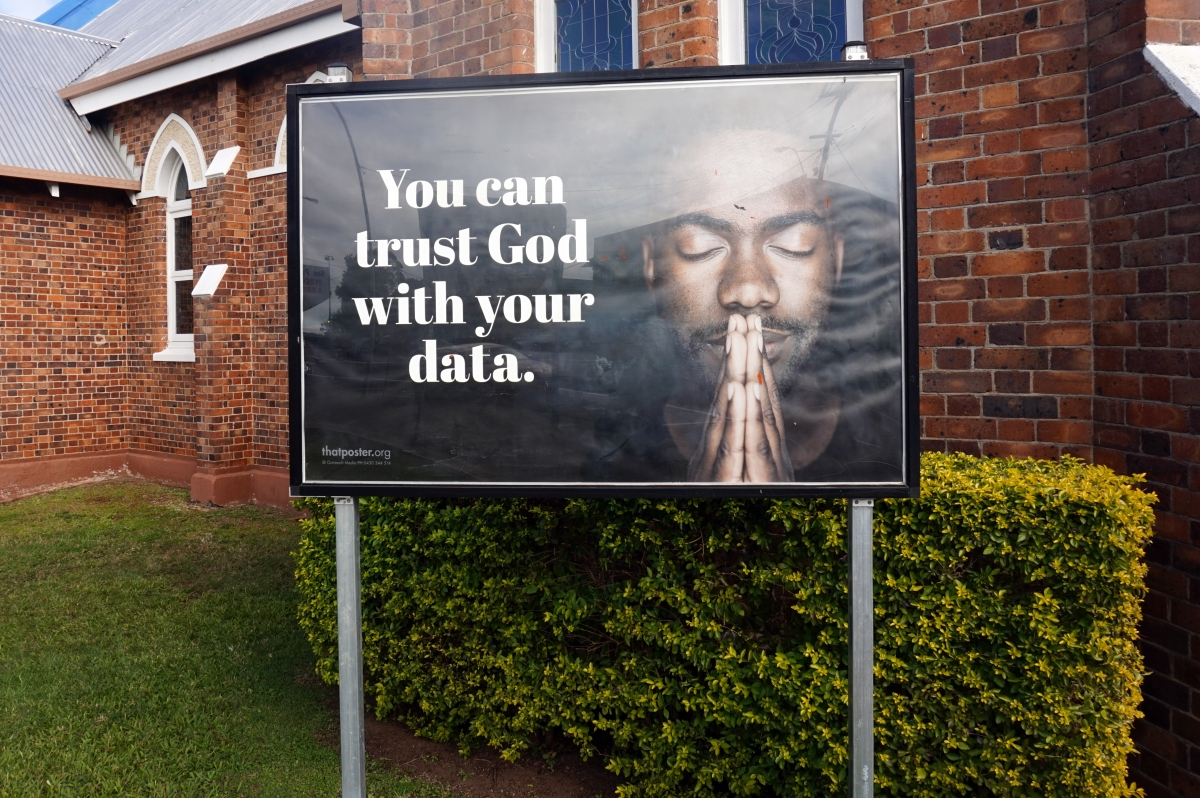 From refugees to social media to pill testing, church signs are getting political